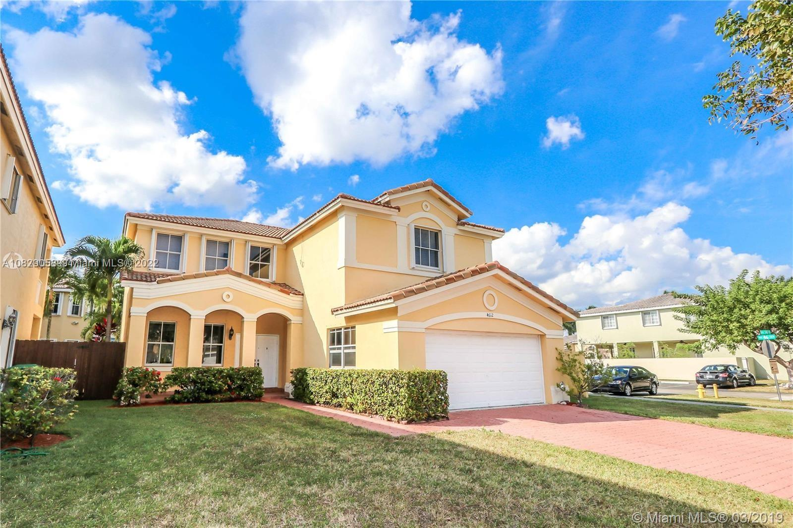 4612 NW 94th Ct  For Sale A10829058, FL