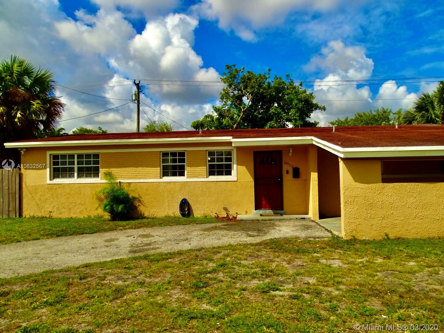 18502 NW 23rd Ct  For Sale A10832567, FL