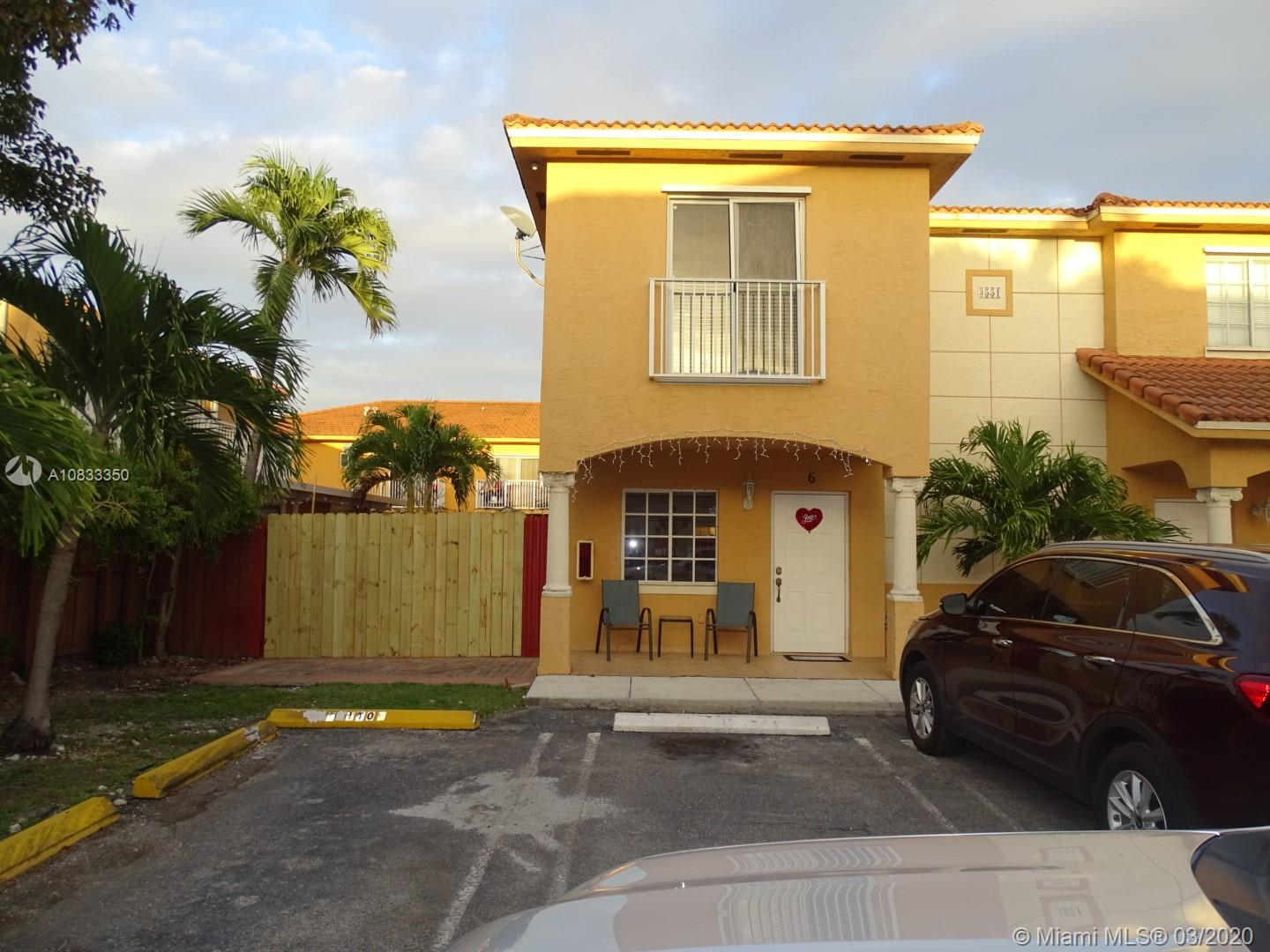 3551 W 76th St #6 For Sale A10833350, FL