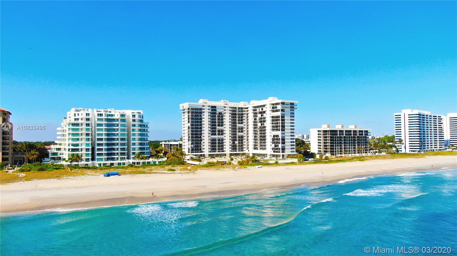 2000 S Ocean Boulevard #10J For Sale A10833495, FL