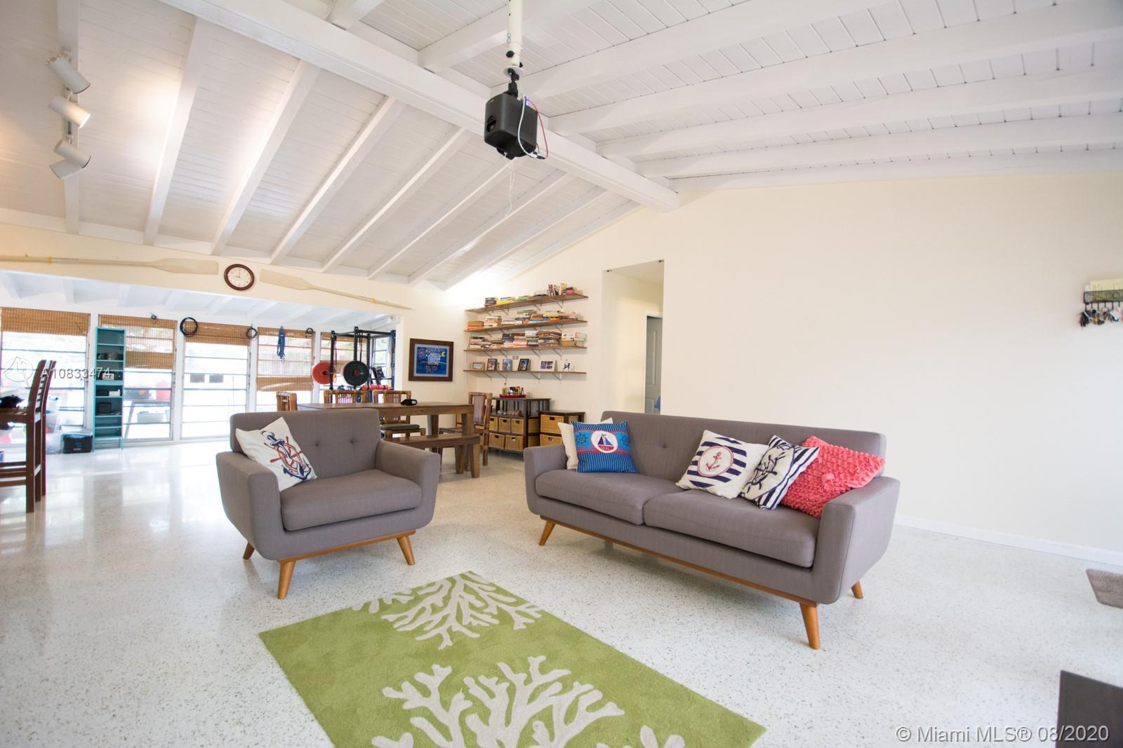 Make this waterfront house your new home on the water! Park your boat or sailboat out back in the deepwater canal and head out the ocean any time you want. There are no fixed bridges! This house is open, airy and inviting with beautiful vaulted ceilings and windows that make it light and bright. Recently updated kitchens and bathrooms, and plenty of room to add an extra bedroom or a pool (Buyer responsible for verifying the viability of a pool). Roof is only 2 years old, deck is brand new! Maximum boat beam 21 feet. Just minutes away from downtown, Las Olas, the Performing Arts Center and I95 while situated in a nice private little cul-de-sac in Gilles Isles. This house is perfect for enjoying the South Florida lifestyle! 75 foot catamaran also for sale.