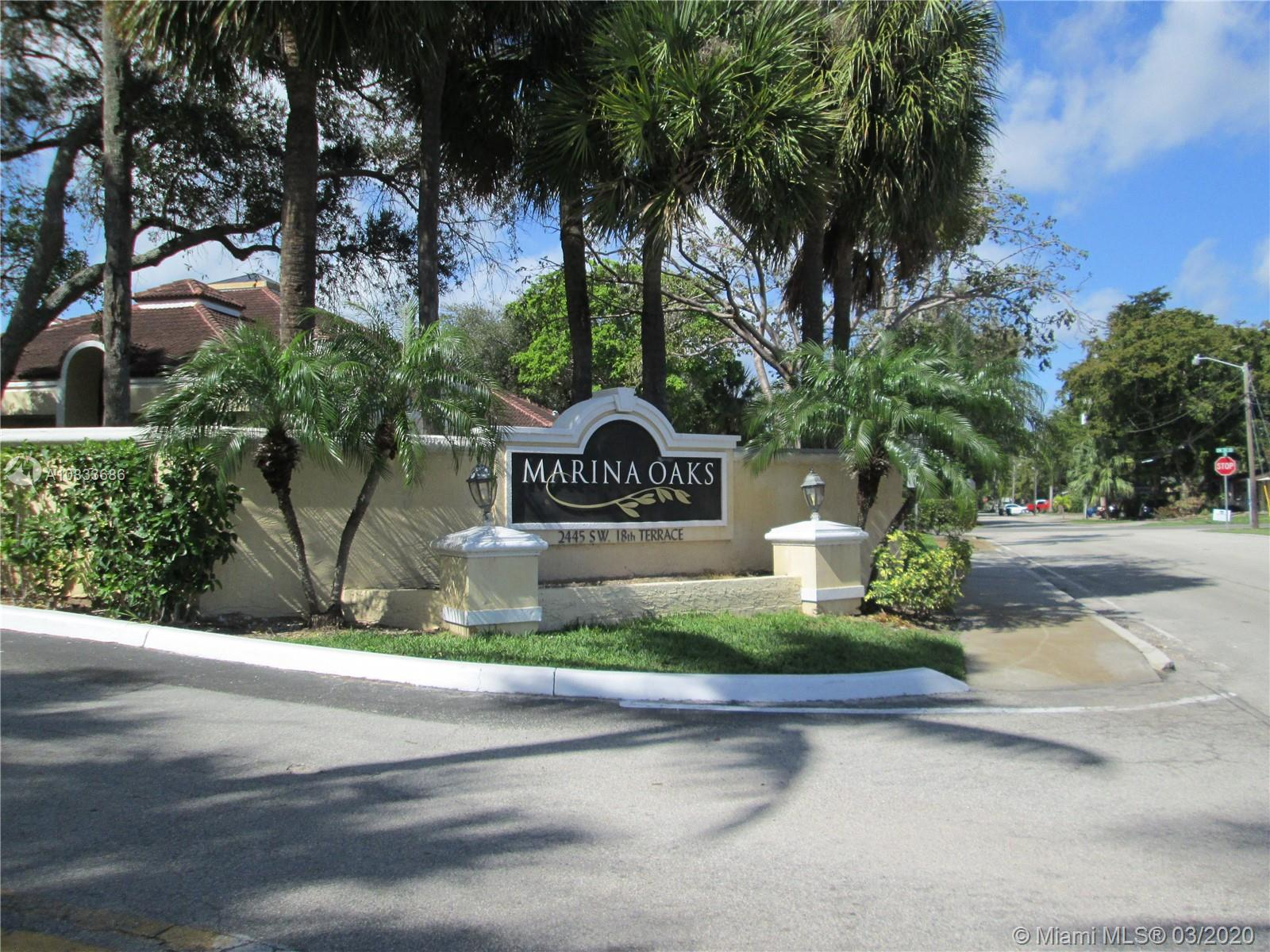 2445 SW 18th Ter #209 For Sale A10833686, FL