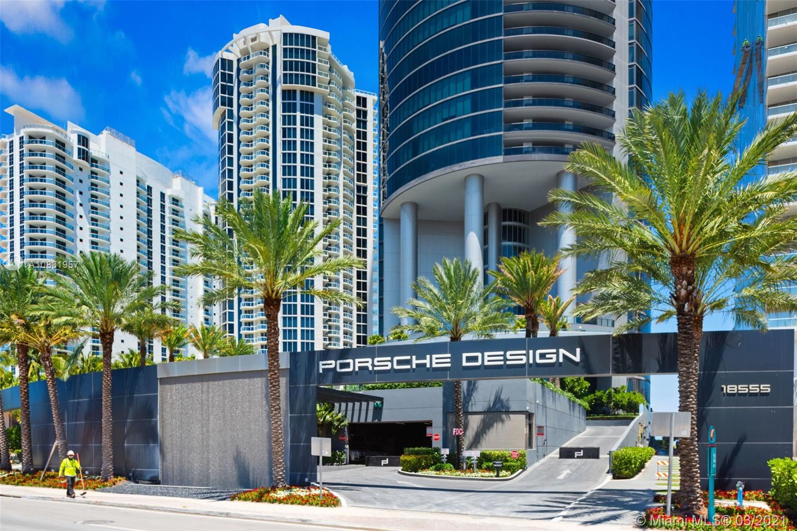 """Porsche Design Tower. With its striking design, this first-ever Porsche Building sets a new innovative standard of living. Designer Ready Residence offers 3 bed/4.5 Bath, floor to ceiling windows from every room with beautiful Ocean views, private in-unit elevator access, top-of-the-line Poggenpohl Kitchen, Miele appliances, an expansive terrace with plunge pool and summer kitchen, and a double built-in """"Sky Garage"""". Building 5 star amenities include an integrated automotive elevator system, private chef at FUEL restaurant, lounge bar, an Ocean front fitness center, SPA, yoga, Vichy shower, treatment rooms, sunset deck, beachside pool(s),  theater, billiard, virtual golf, race car simulators, car concierge and beach front access."""