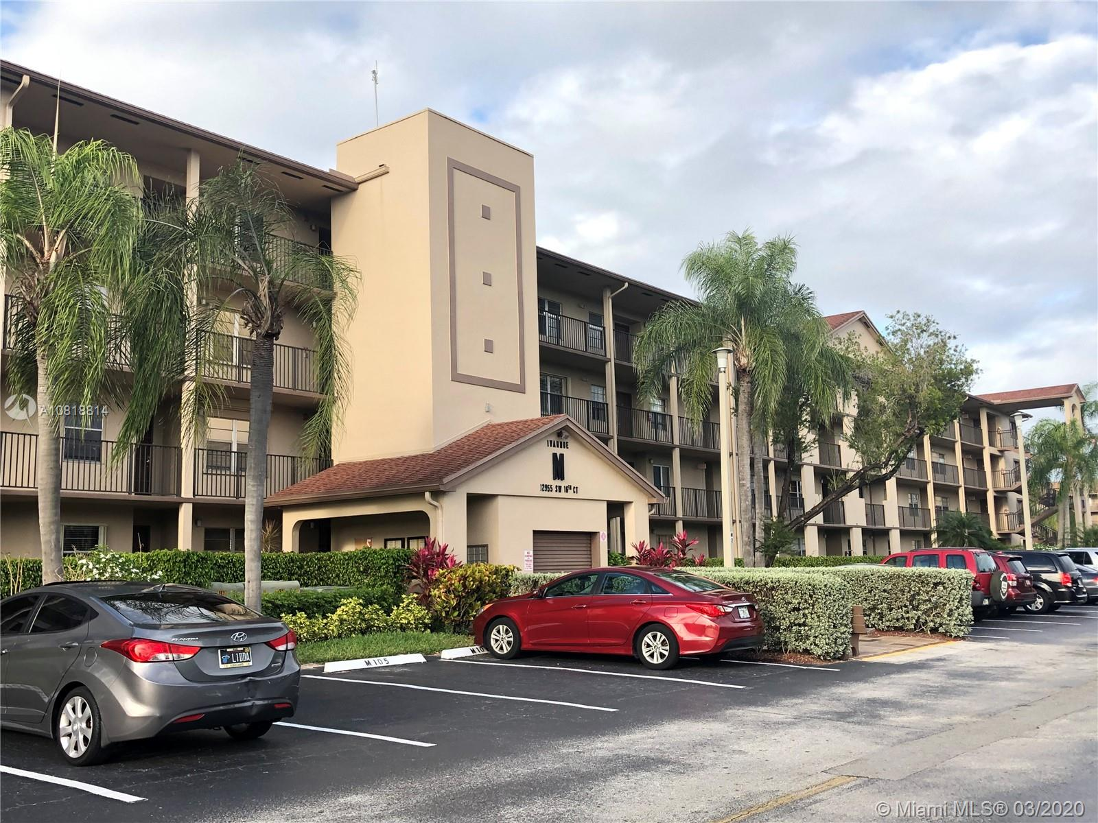 12955 SW 16th Ct #406M For Sale A10818814, FL