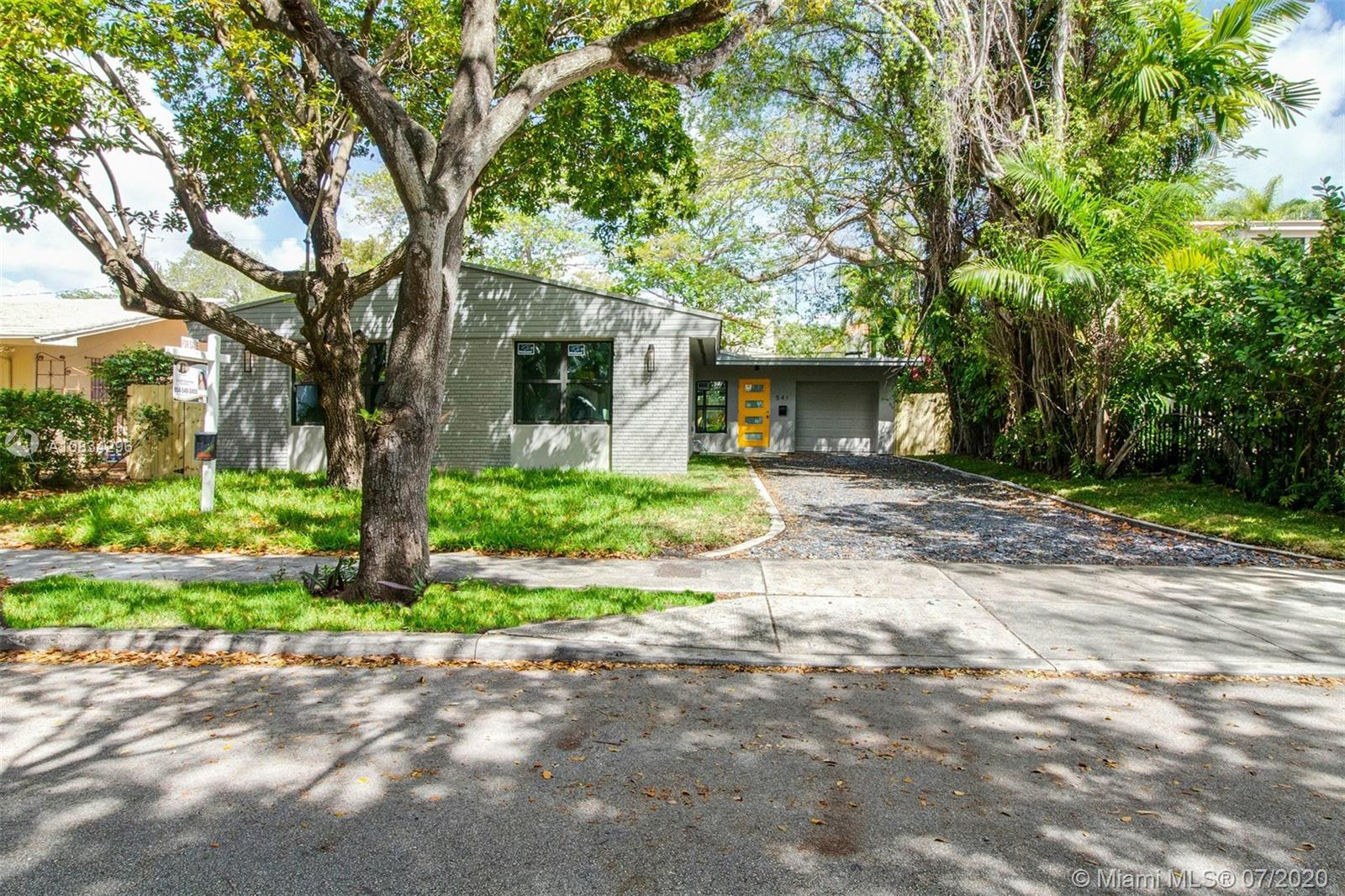 541 NE 58th St  For Sale A10834296, FL