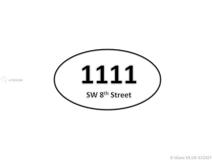 1105 SW 8TH STREET  For Sale A10834389, FL