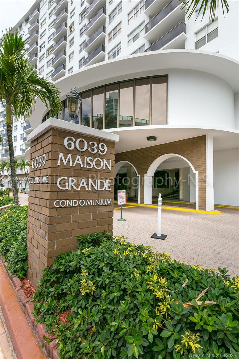 6039  Collins Ave #1112 For Sale A10830899, FL