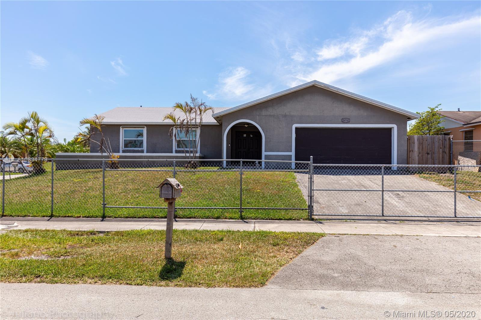 26742 SW 122nd Ct  For Sale A10834779, FL