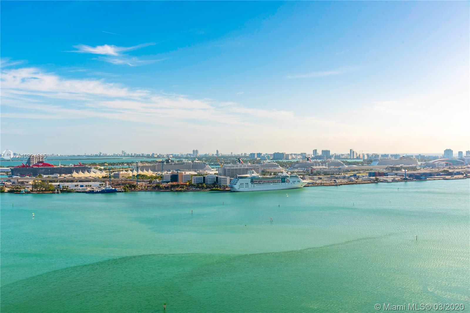 Immaculate 3 bedrooms 3.5 bathrooms flow-through unit with direct city and bay views. Asia is a luxury condominium featuring private elevators, a state-of-the-art fitness center, concierge services, private pool, and an incredible location in the exclusive island of Brickell Key.