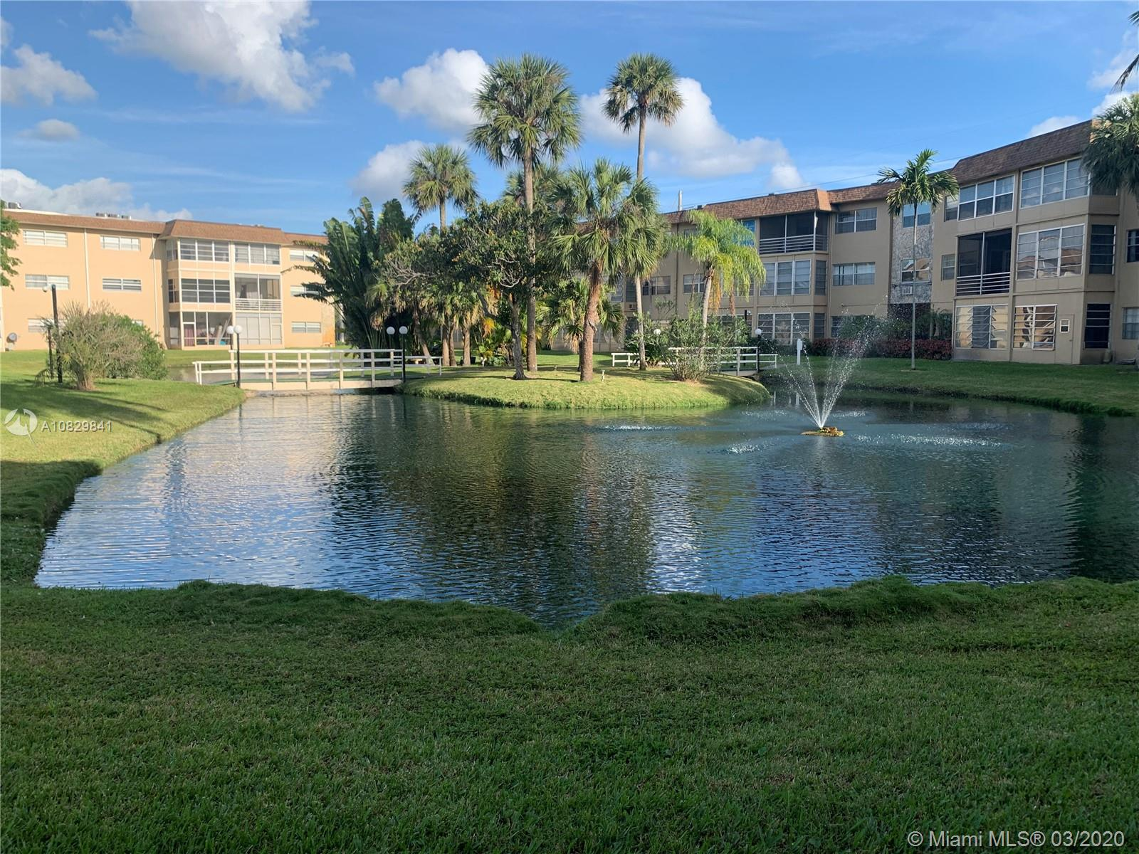 Beautiful condominium on the first floor with 2 bedrooms and 2 full bathrooms. It is located in Camellia Gardens (55+ community). The kitchen overlooks the dining/living room and screened porch. As the sun rises, enjoy a gorgeous and peaceful view from your master bedroom and/or porch. Nothing less than quite the sight to see, we encourage you to come on by and see for yourself. The condominium offers amenities: swimming pools, exercise room, laundry facilities and much more. Close to Wal-Mart, CVS, Walgreens, Publix, medical & commercial centers, restaurants, and parks.