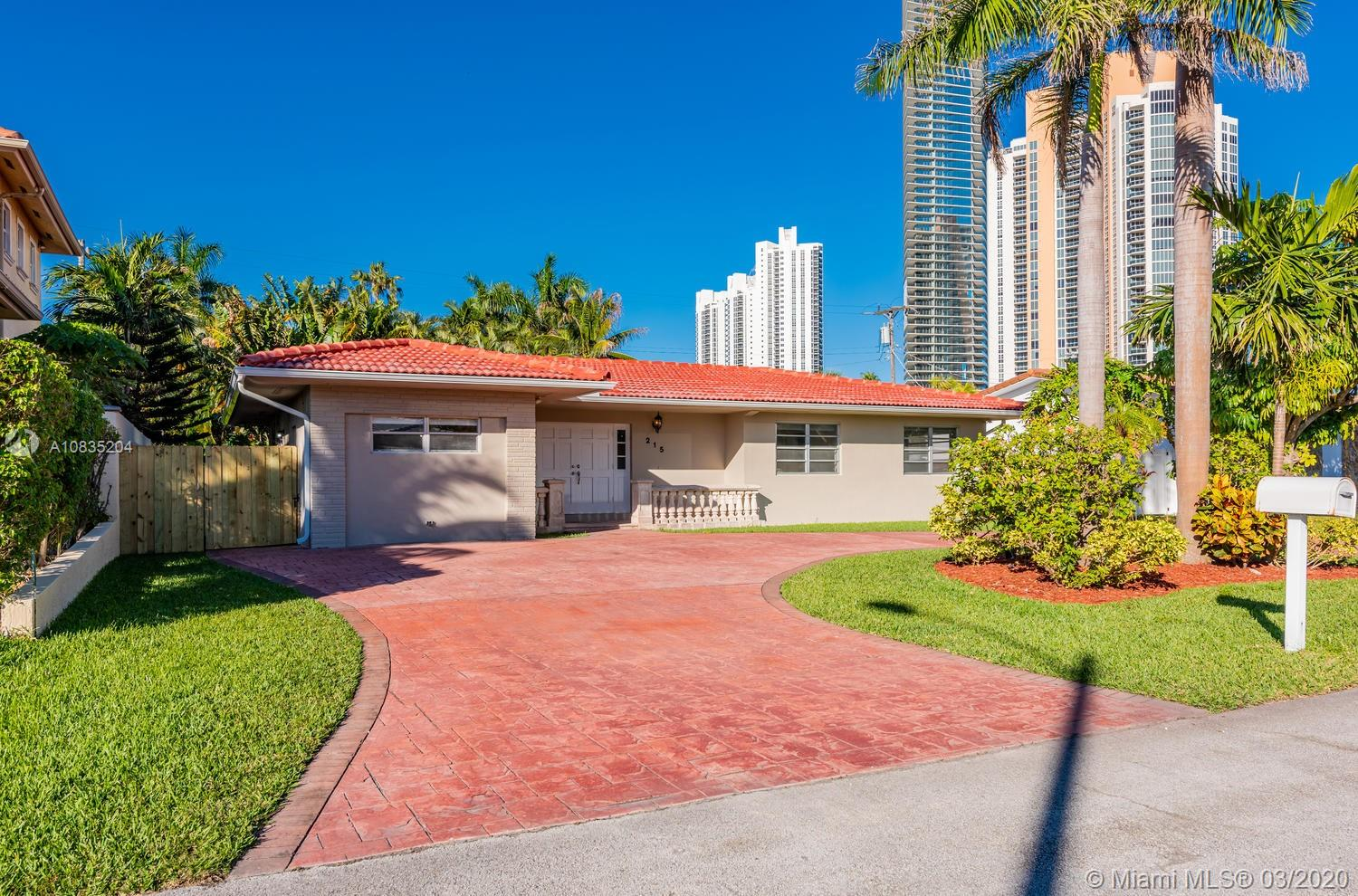 215  187th St  For Sale A10835204, FL