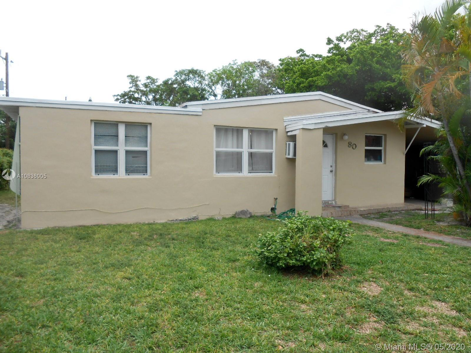 80 NW 120th St  For Sale A10836005, FL