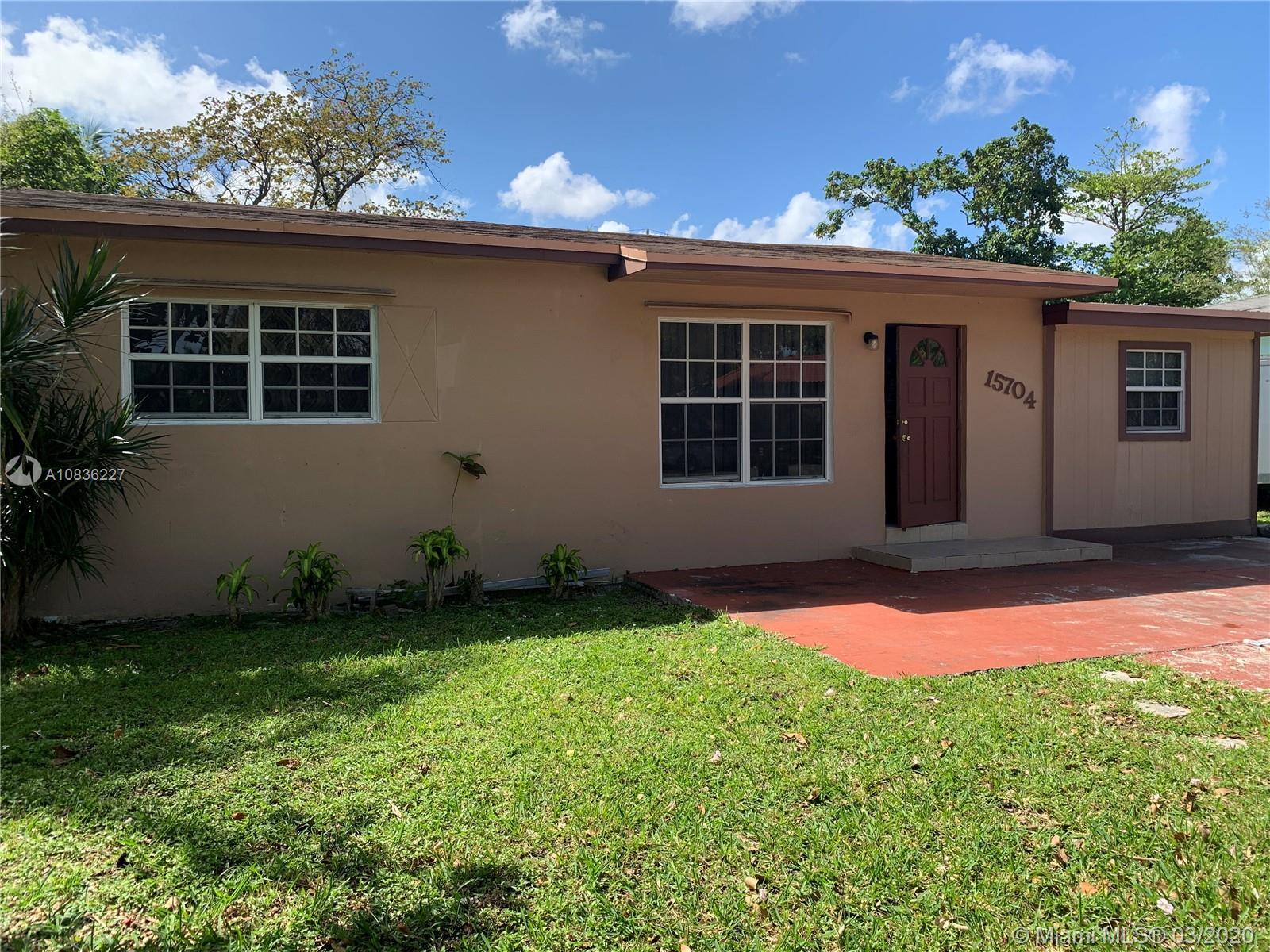 15704 NE 12th Ave  For Sale A10836227, FL