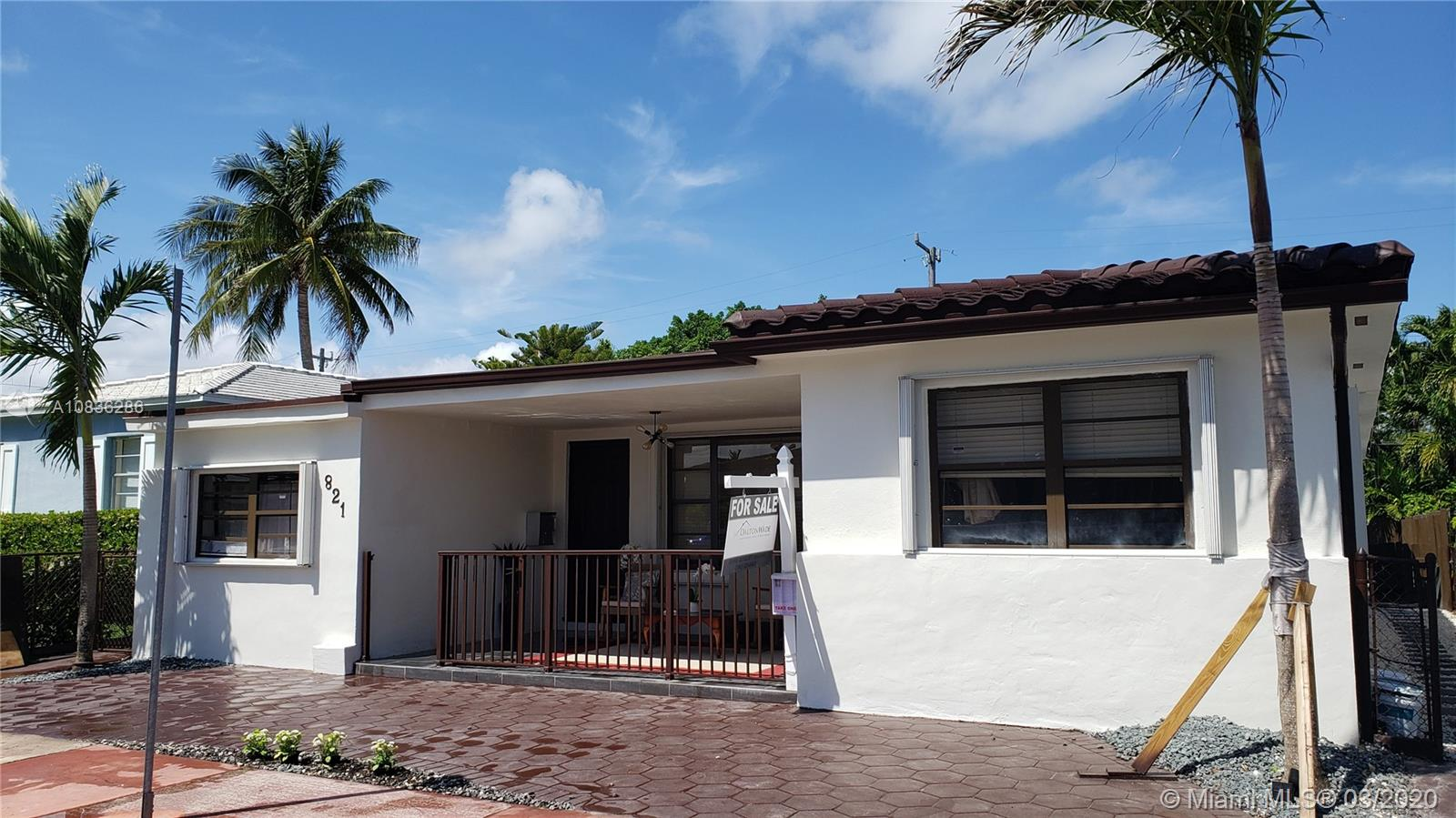 821  83rd St  For Sale A10836286, FL