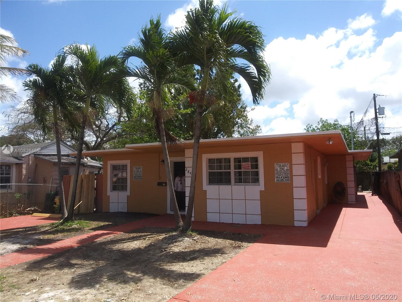 284 NW 82nd St  For Sale A10836465, FL