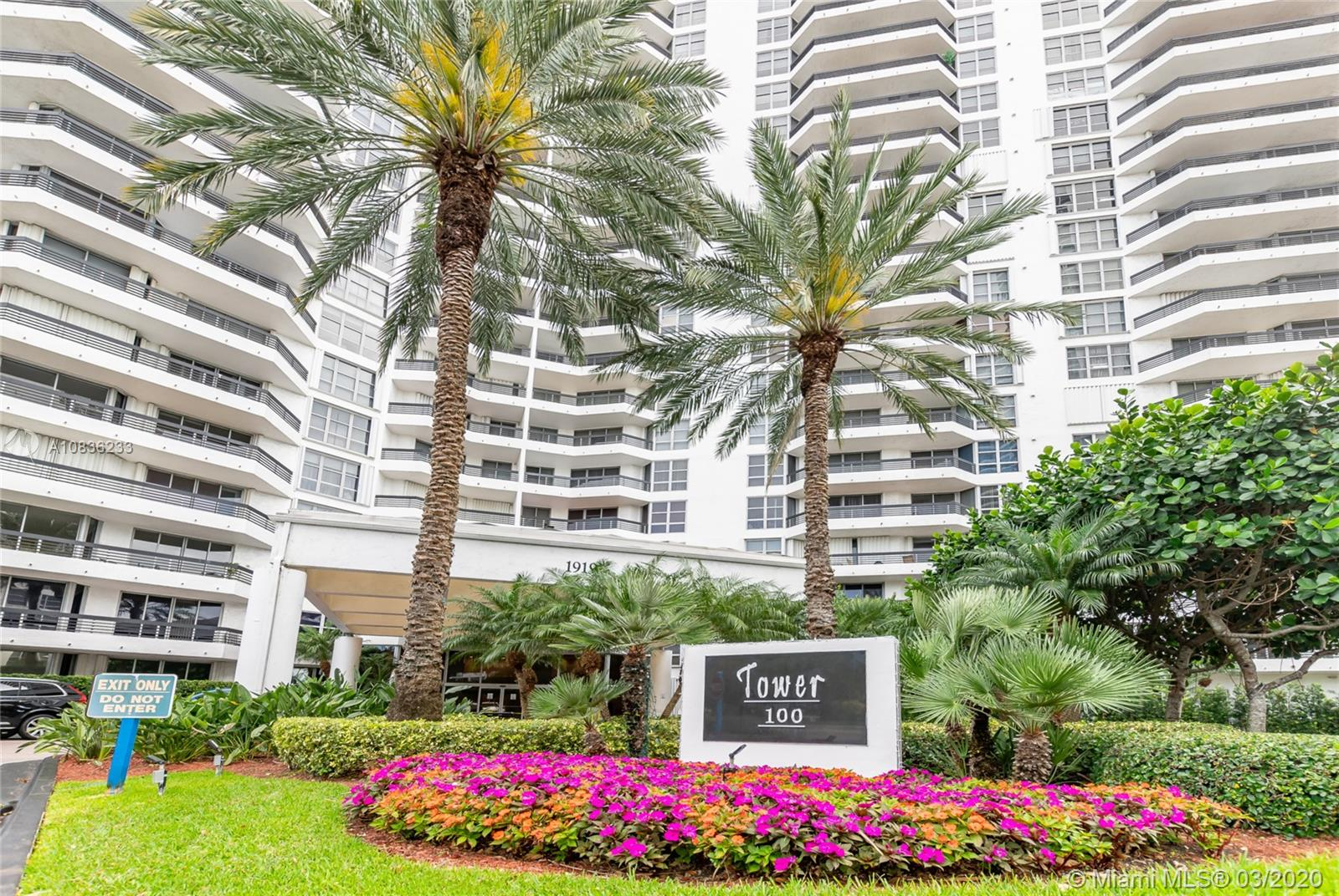 19195  Mystic Pointe Dr. #303 For Sale A10836233, FL