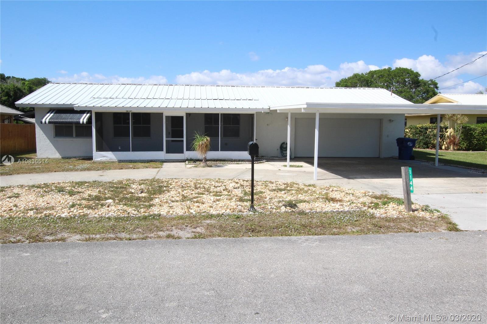1144 Lisa Lane, Bulkhead Ridge, FL 34974