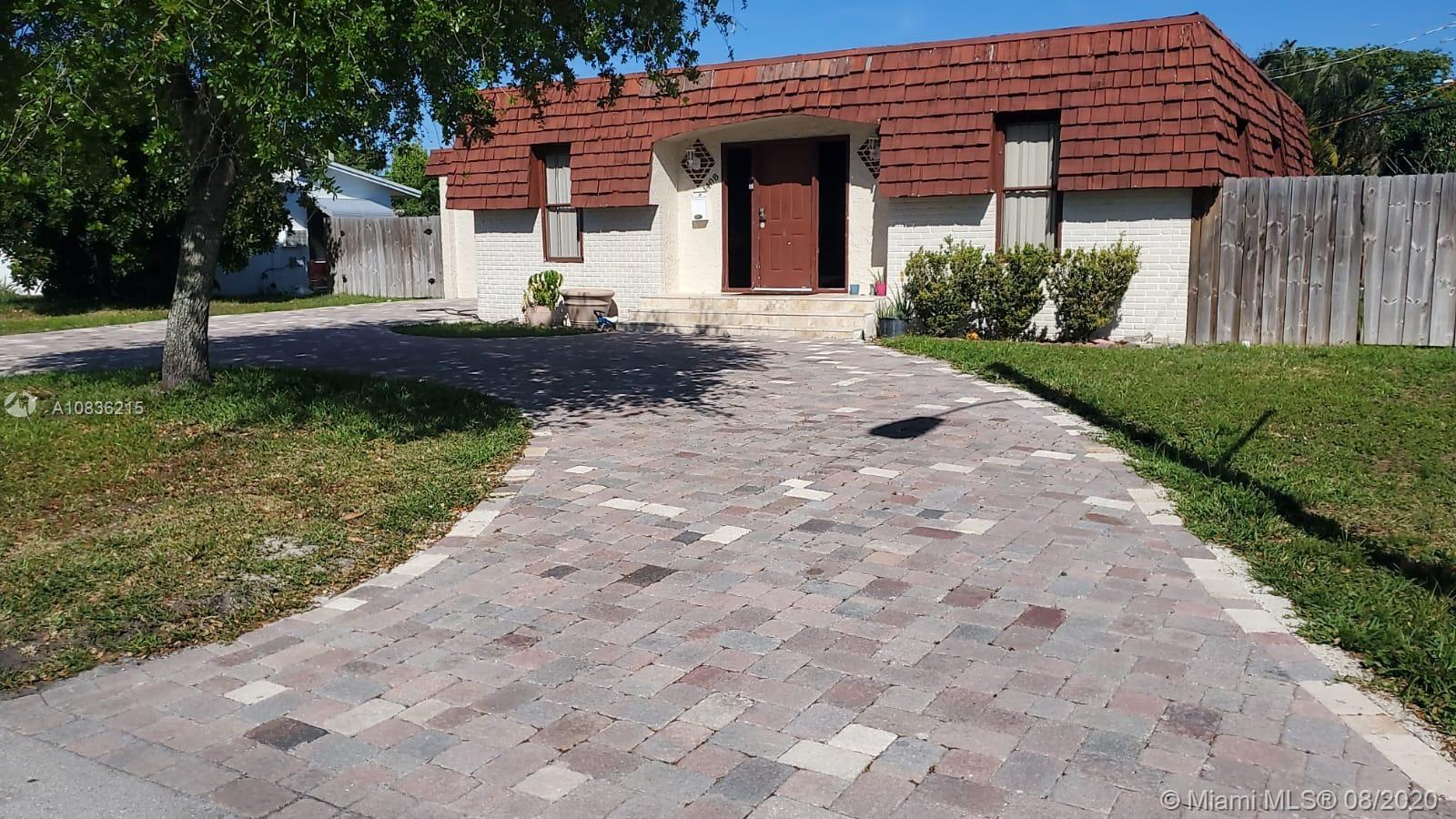 BEAUTIFULLY RENOVATED 5/3 SINGLE FAMILY HOME IN DEERFIELD BEACH. PROPERTY FEATURES FULLY RENOVATED KITCHEN WITH GRANITE COUNTERTOPS, STAINLESS STEEL APPLIANCES, GORGEOUS BACKSPLASH AND RECESSED LIGHTS. PORCELAIN TILES ARE FOUND THROUGHOUT THE HOUSE WITH THE EXCEPTION OF 2 BEDROOMS THAT HAVE WOOD LAMINATE FLOORS. ALL 3 BATHROOMS WERE WONDERFULLY RENOVATED. PROPERTY ALSO HAS A HUGE FENCED IN BACKYARD AND A NEW BRICK DRIVEWAY WAS RECENTLY INSTALLED. THIS HOUSE IS READY FOR YOU AND YOUR FAMILY!