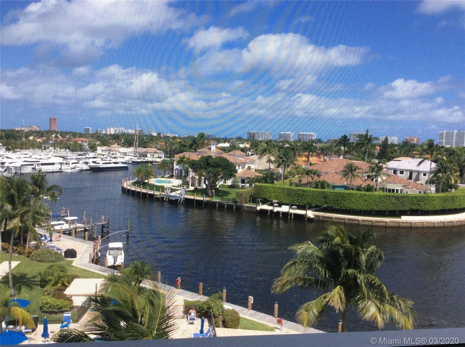 THE MOST SPECTACULAR WATER VIEW AS SOON AS YOU ENTER THE CONDO. COMPLETELY RENOVATED AND UPDATED IN 2018 WITH HIGH END MATERIALS. HARDLY LIVED IN. CUSTOM BUILT KITCHEN, BATHROOMS COMPLETELY RENOVATED WITH WITH BEAUTIFUL TILES, HURRICANE IMPACT WINDOWS, DOORS AND SLIDING DOORS THRUOUT, HURRICANE IMPACT ELECTRIC SHUTTERS ON THE BALCONY, ISLAND WITH WATERFALL GRANITE, STAINLESS STEEL APPL. BEAUTIFULLY FURNISHED AND DECORATED BY PROFESSIONAL DESIGNER, ALL ITALIAN CERAMIC FLOORING, NEW WATER HEATER, ELECTRONIC WI/FI THERMOSTAT. OVERSIZE SCREENED BALCONY.  NO EXPENSE WAS SPARED, THIS IS TRULY ONE OF A KIND. BOAT DOCKAGE AVAILABLE. BLDG. JUST PASSED IT'S 40 YR. CERTIFICATION AND SPECIAL ASSESSMENT HAS ALREADY BEEN PAID.  BEST KEPT SECRET IN DEERFIELD BEACH, CLOSE TO BEACH, RESTAURANTS, SHOPPING.