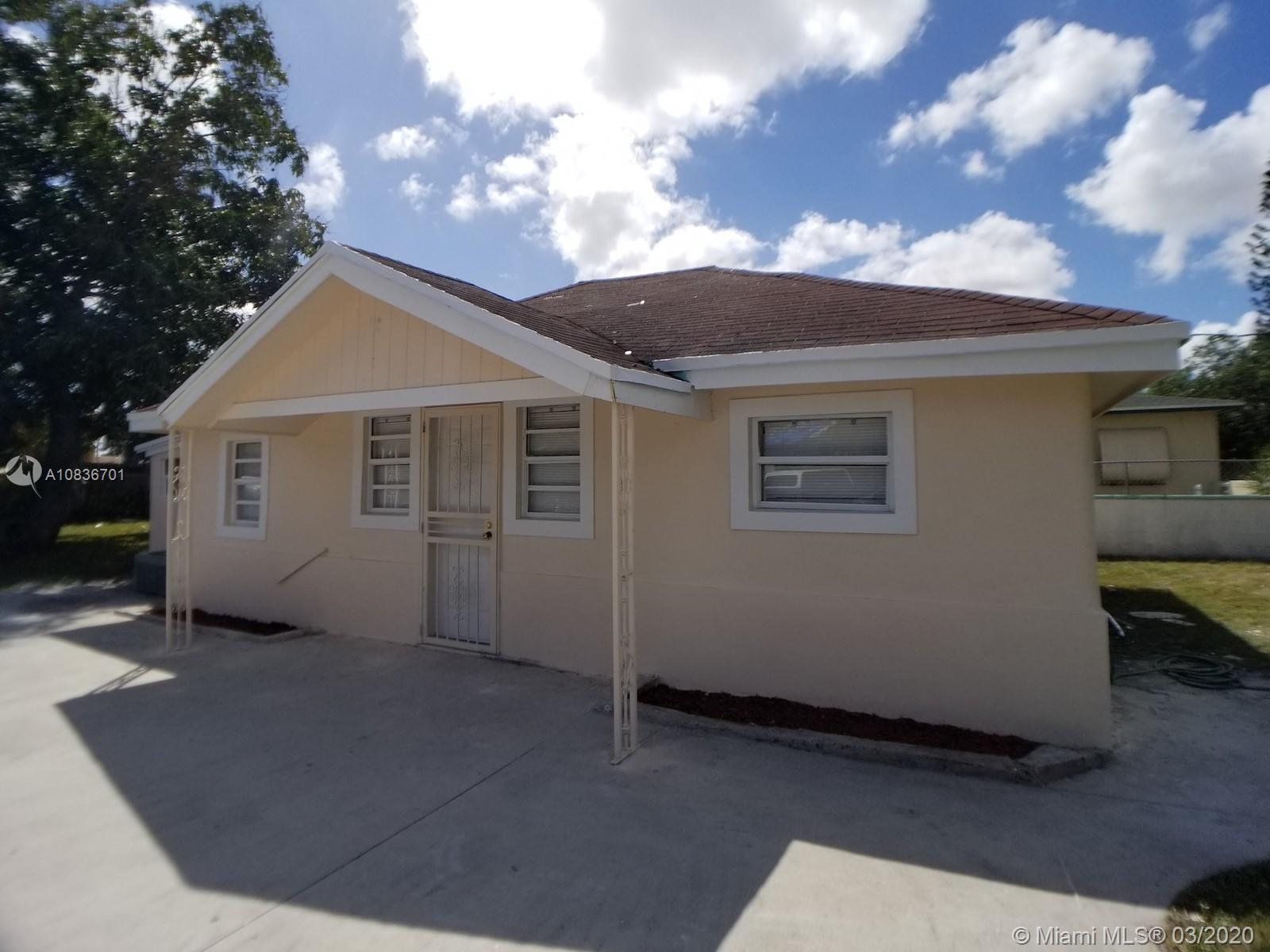 11990 NW 11th Ave  For Sale A10836701, FL