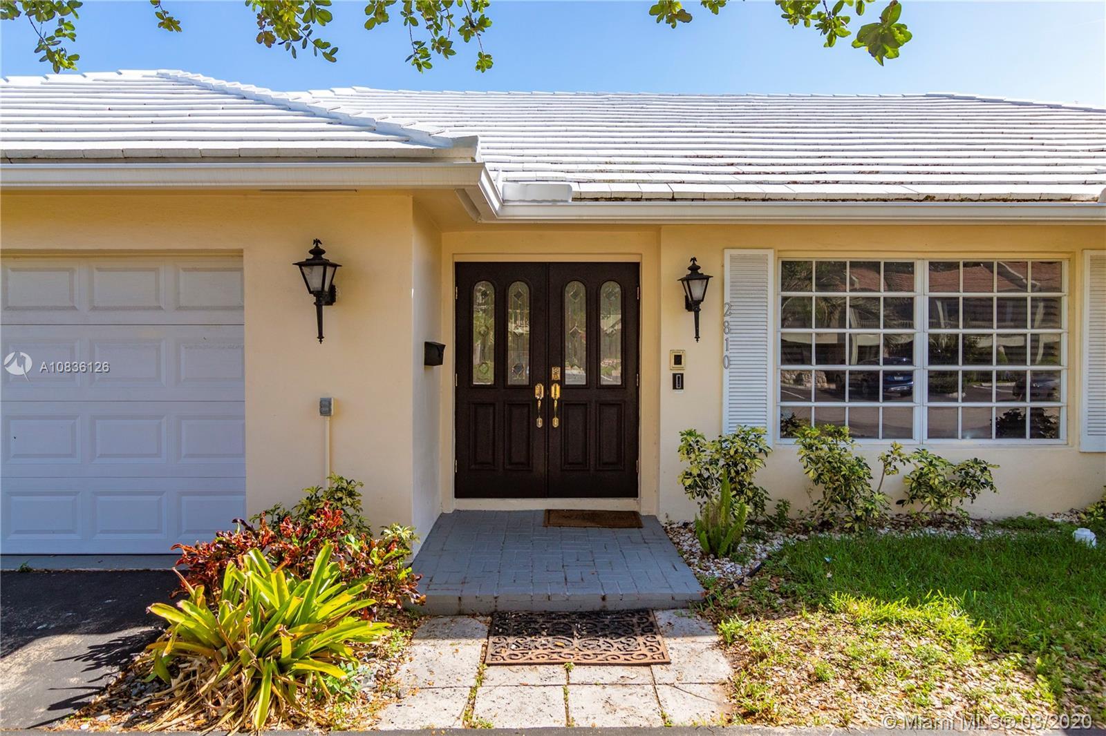 2810 NE 60th St  For Sale A10836126, FL