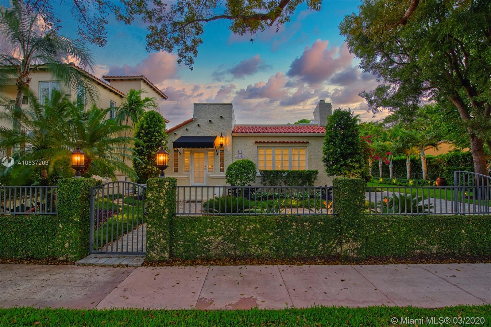 616  Alcazar Ave  For Sale A10837203, FL