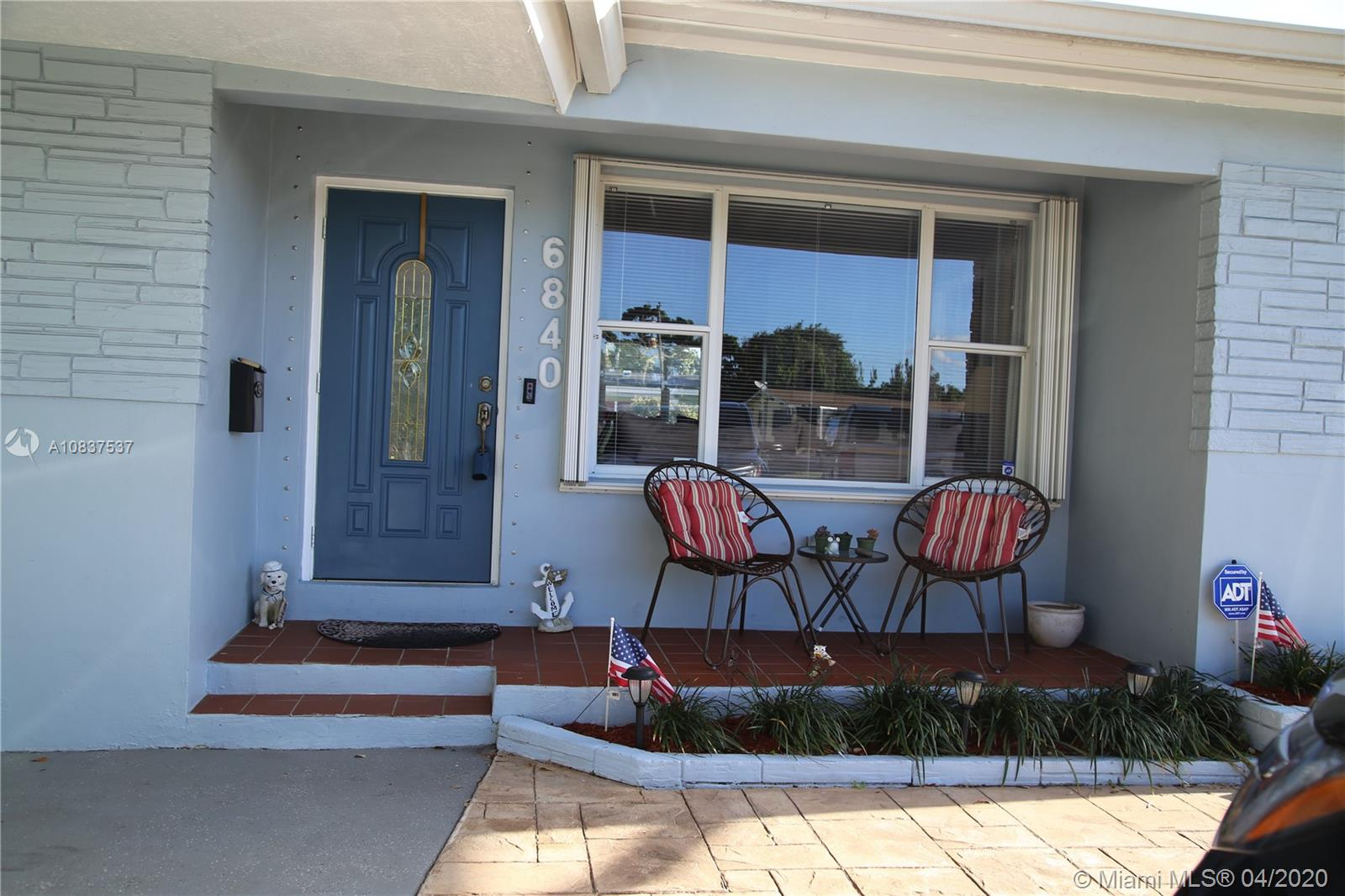 Picture yourself quarantined in this move-in ready, 3 bedroom, 2 bath home. :)  The Sellers have worked hard getting their home in pristine condition.  High glossed real hard wood flooring (not laminate), Plenty of kitchen cabinets and counter space.  Updated bathrooms. Nice size back yard with patio, with room for a pool. Nicely landscaped, 1 carport with plenty more parking on paved driveway.  No HOA here!  This property is located in Pines Village with the Elementary school down the street.  Centrally located in between Miami & Ft. Lauderdale close to the Florida's Turnpike.  Close to shopping, schools, and the Beach.