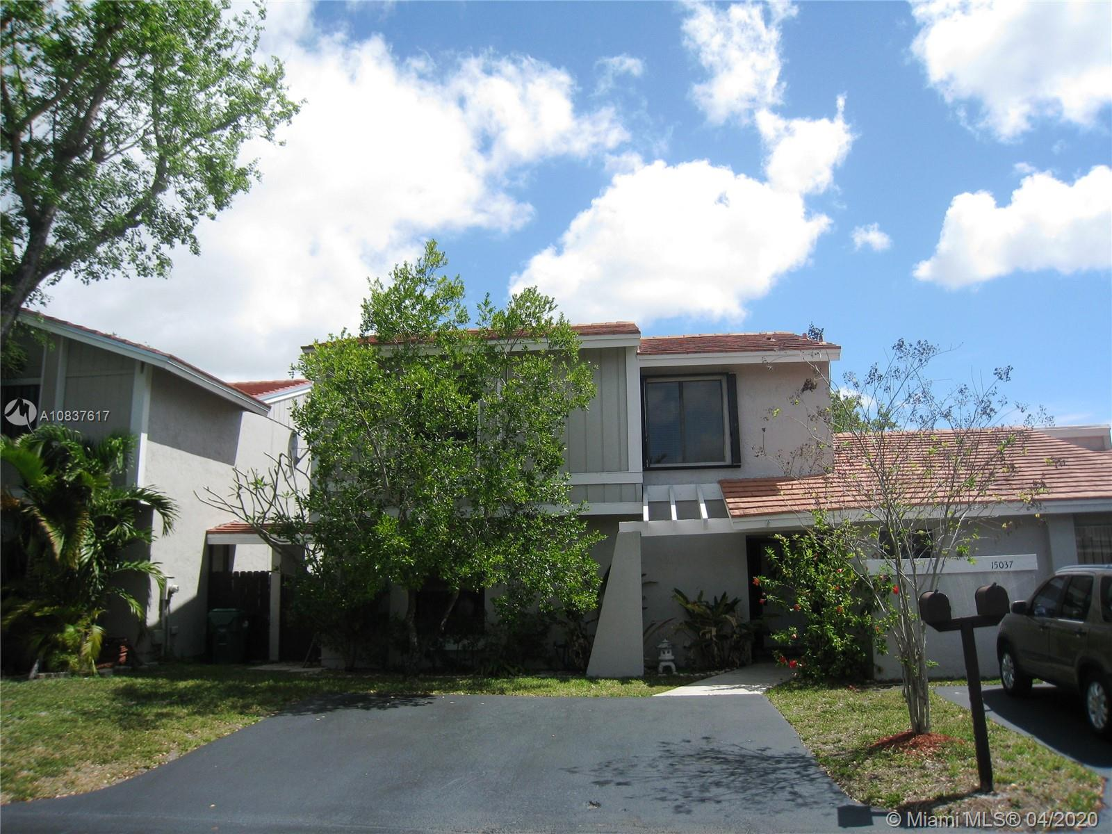 15035 SW 127th Pl #15035 For Sale A10837617, FL