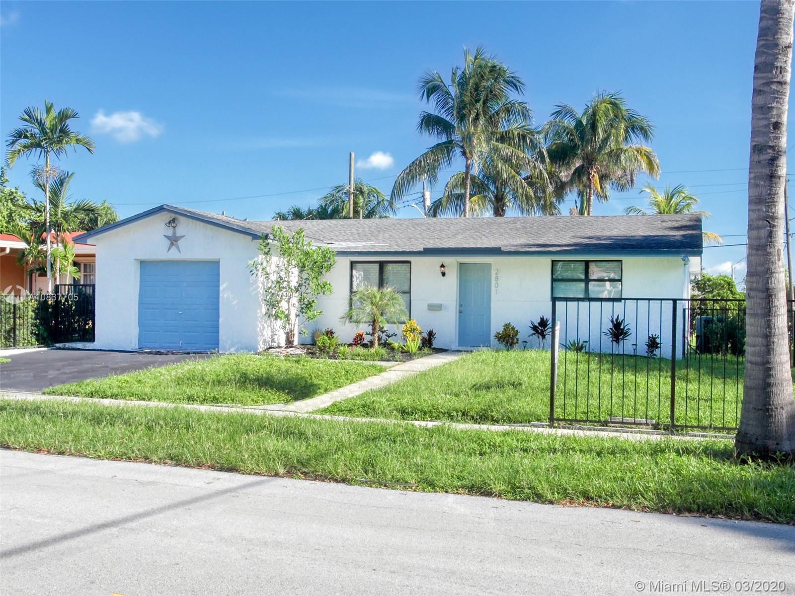 2801  Cleveland St  For Sale A10837705, FL