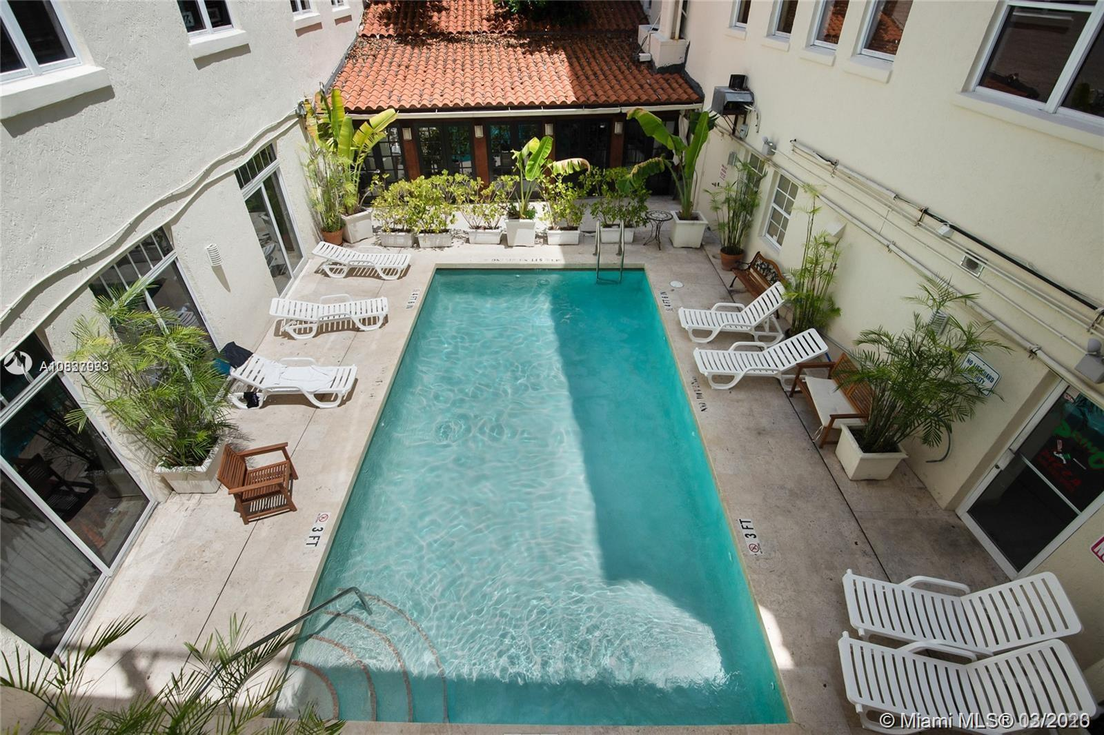 100  Collins Ave #211 For Sale A10837993, FL