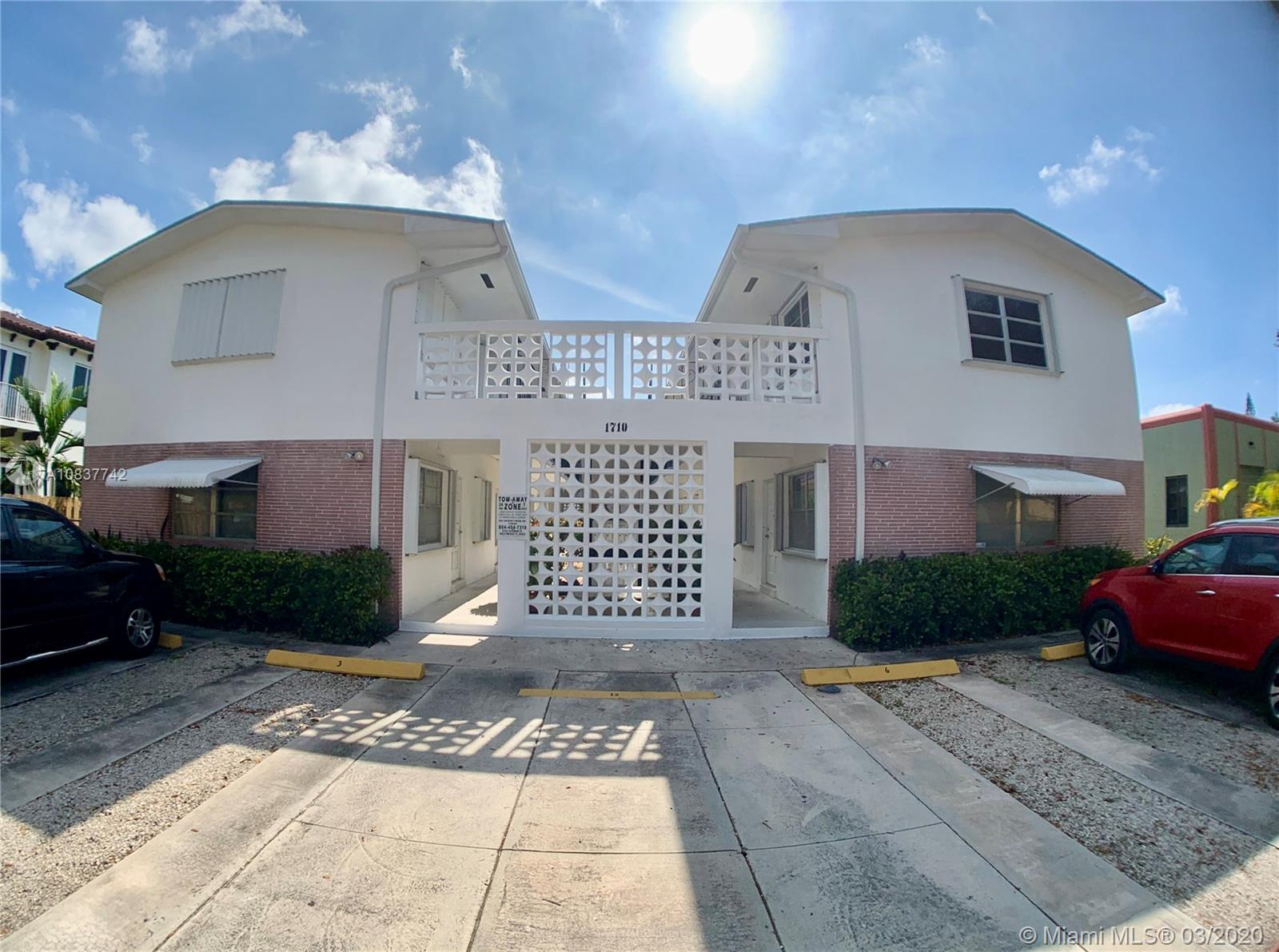 1710  Madison St #7 For Sale A10837742, FL