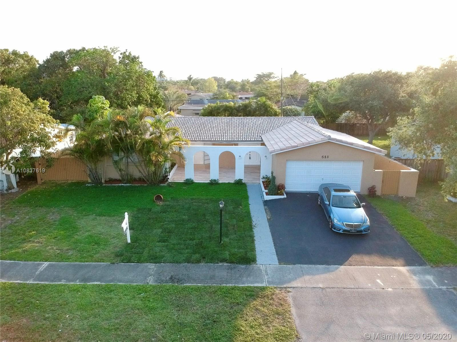 518 S Rainbow Drive  For Sale A10837619, FL