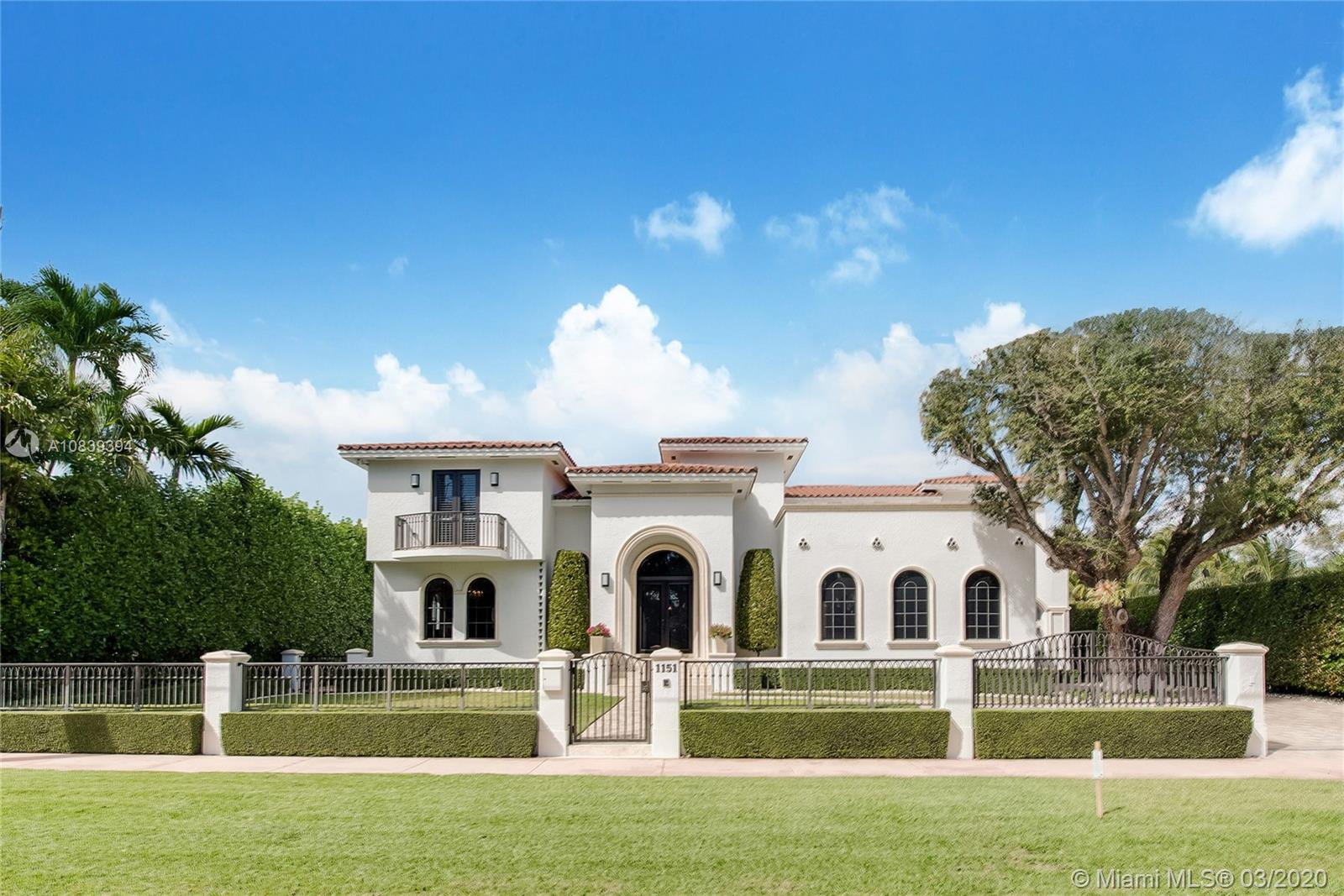 1151 S Alhambra Circle  For Sale A10839394, FL
