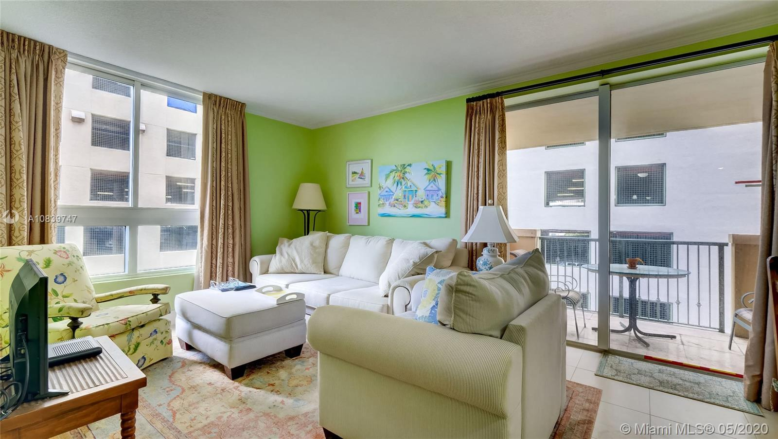 BEST DEAL IN THE MUTINY.  This 1 bed/1 bath unit is one of the largest one bedrooms in the building with 810 square feet and even has views of Peacock Park and Biscayne Bay from the living room and bedroom.  Unit can be used as a primary residence, rented to a long-term tenant, or rented short term via Airbnb or The Mutiny's hotel program.  There are no occupancy/rental restrictions.  Call to find out more about this unit and the rental opportunities.  In-person and virtual showings available!   Please visit the following link for a 360° Virtual Tour of this property