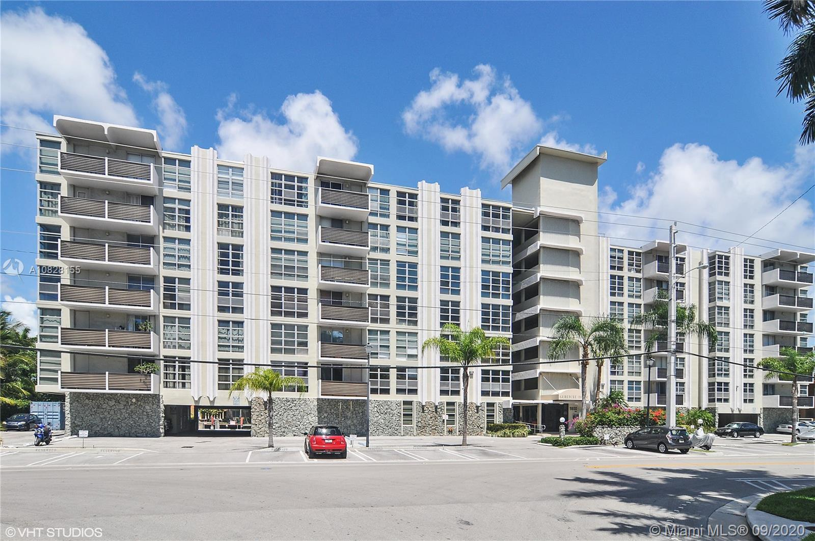 Waterfront corner unit featuring direct canal views, tile floors throughout and hurricane shutters. Additional features include private storage and assigned parking. Fully renovated building with secured entry, laundry on every floor and beautiful pool deck overlooking the intracoastal waterway. HOA fee includes cable TV and high speed internet. Rentals allowed 1st year of ownership. Located just steps away from fine dining, houses of worship, top rated school Ruth K Broad K-8 school and pristine beaches.