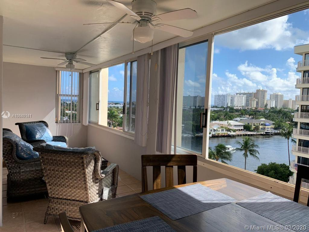 Bright and spacious 2 bedroom and 2 bath corner unit with amazing intracoastal views and enclosed balcony, great for entertaining. Beautiful modern kitchen and tile floors throughout. Great amenities! Enjoy heated pool and pool deck directly on intracoastal. Located directly on intracostal waterway close to beach, restaurants and shopping. Very desirable location! This won't last on market, priced to sell.