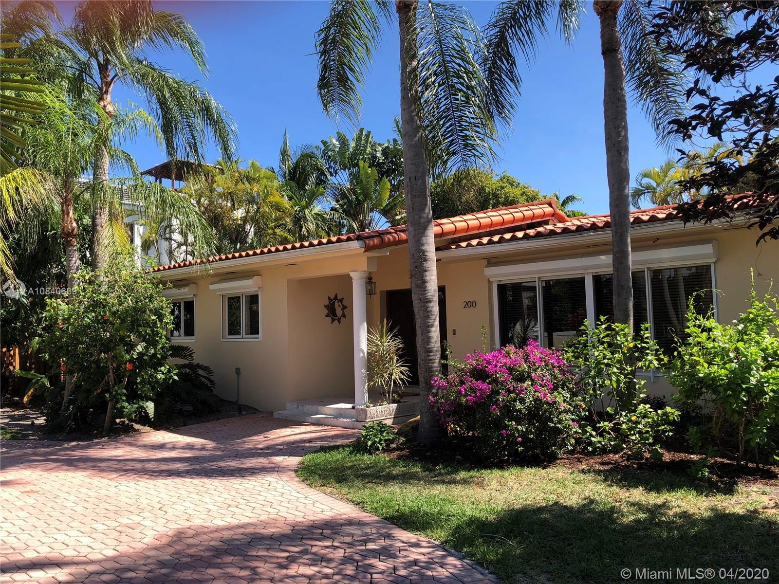 200 N Hibiscus Dr  For Sale A10840689, FL
