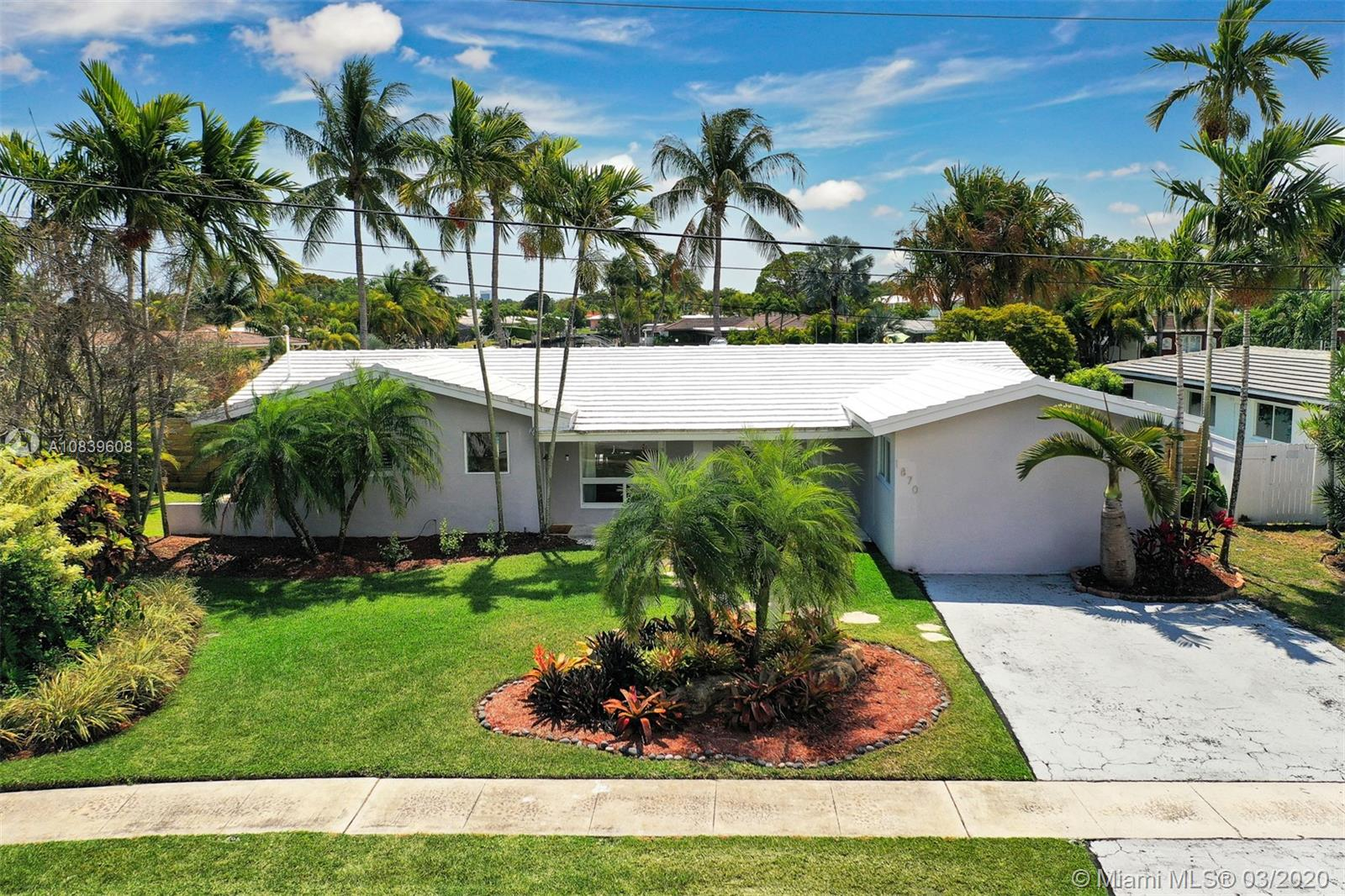 1870 NE 65th St  For Sale A10839608, FL