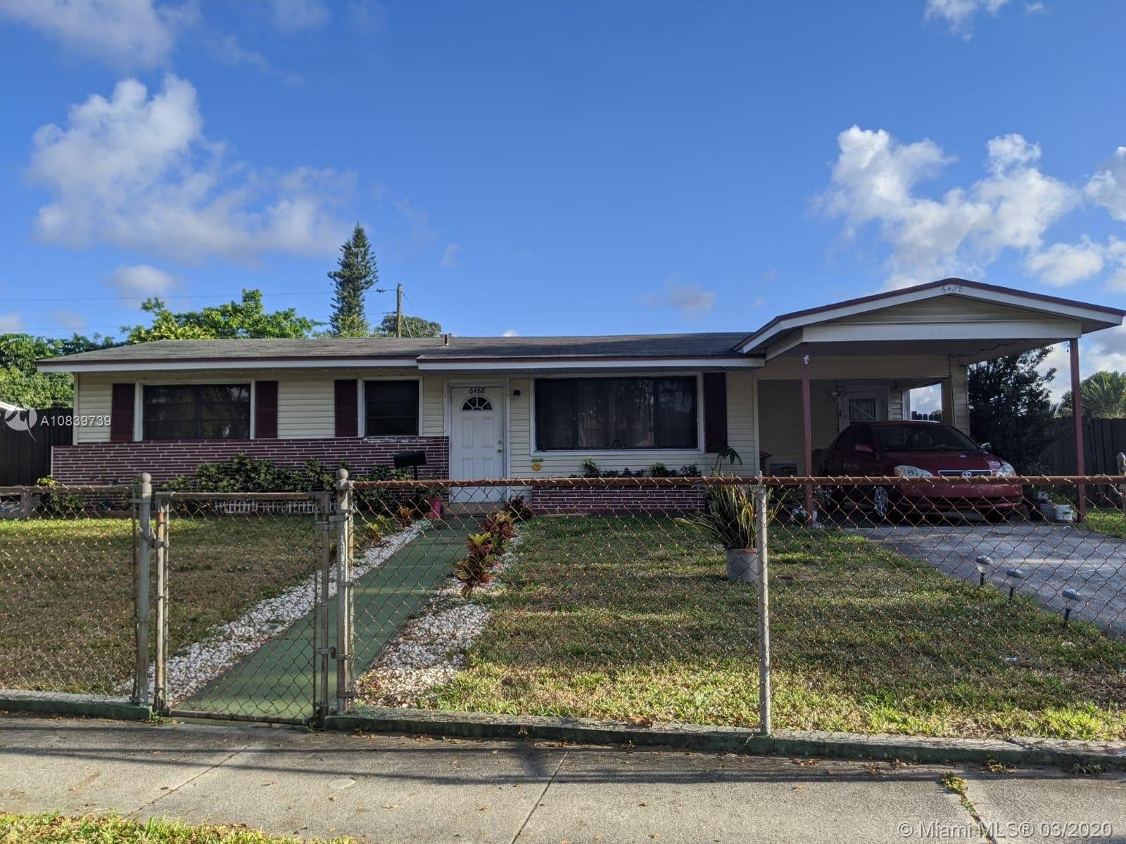 6488  Johnson St  For Sale A10839739, FL