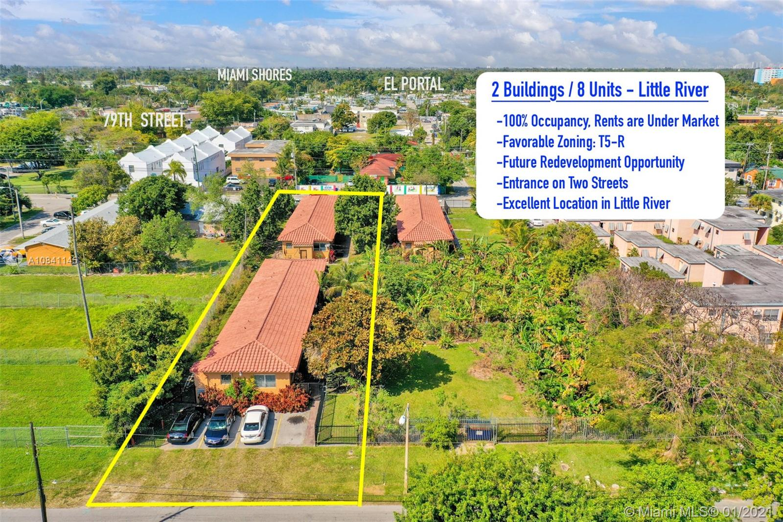 111 NW 76th St  For Sale A10841145, FL