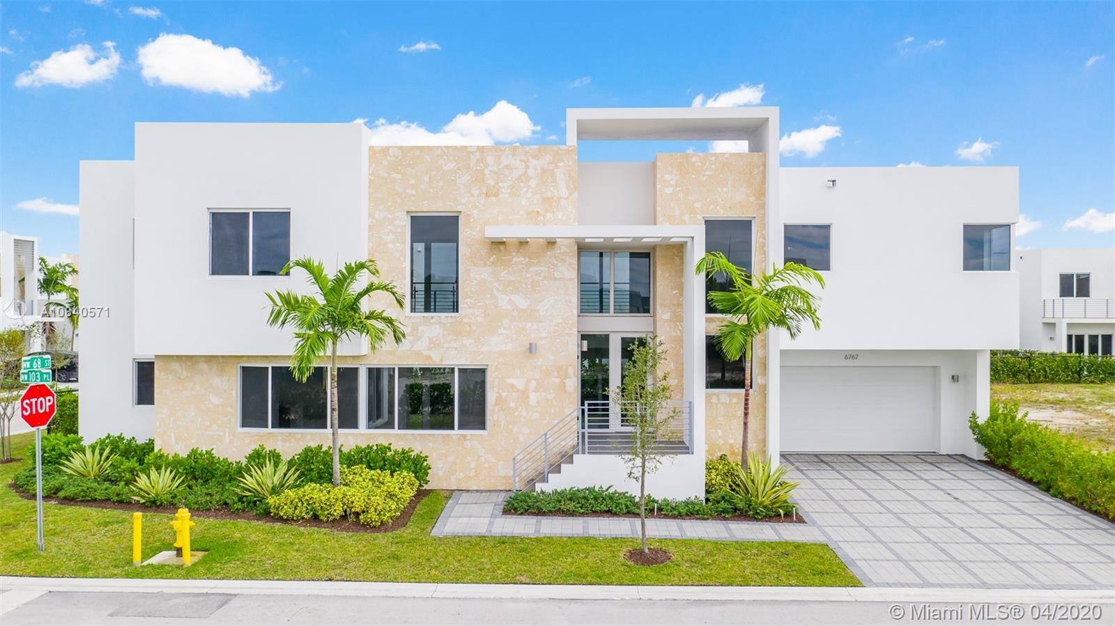 NEWLY Constructed NEOVITA DORAL combines the highest level of modern architecture & design w/ a new collection of unique 2 story residences with pool. Alta Developers brings this exclusive gated community to the City of Doral w/ a private 2 story clubhouse equipped w/ indoor & outdoor amenities-State of the art fitness & sauna, upscale wet bar, sophisticated game & media rooms, lounge areas, kitchen & dining w/ outdoor spaces, pool & spa. Custom homes feature imported porcelain flooring, wood and/or carpet in stairwell, 2nd floor hallways & bedrooms. S/S Bosh appliances, European cabinetry, s/s sink, Covered terrace, Impact Windows/Doors, 2 Car Garage. Centrally located, minutes from Downtown Doral, MIA Airport, major highways, Malls, Restaurants. Learn about buyer's incentives.