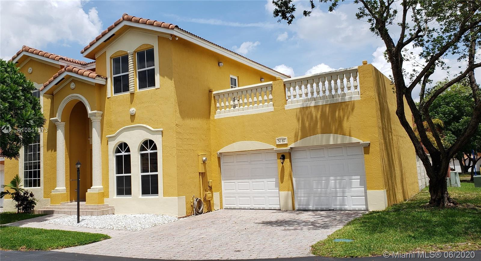 5181 NW 108th Path  For Sale A10841373, FL