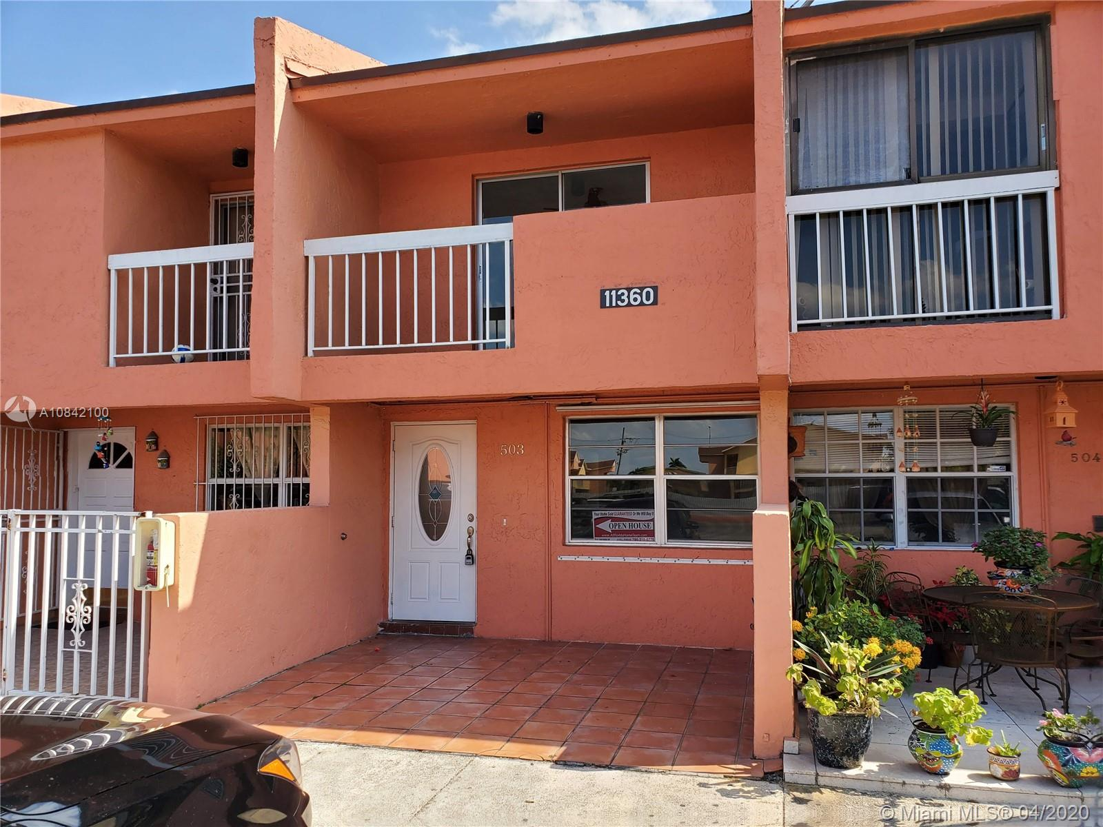11360 SW 1st St #503 For Sale A10842100, FL