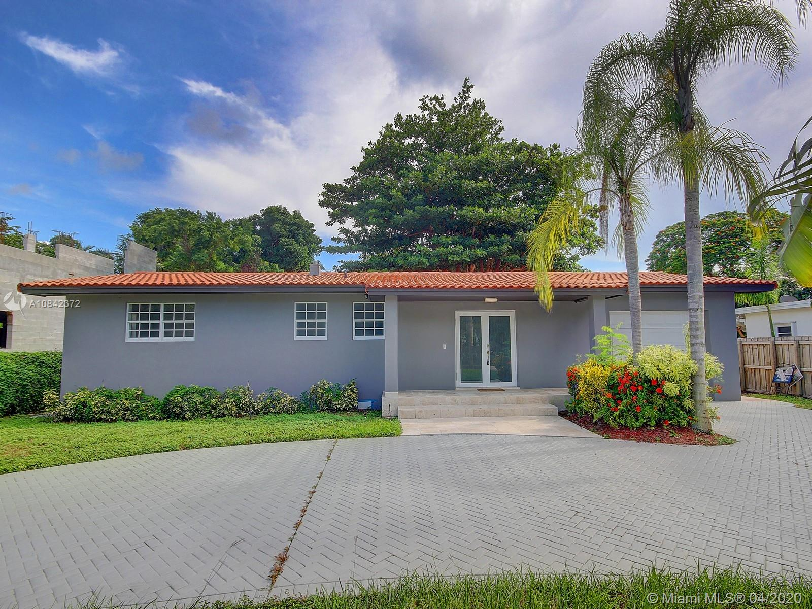 Unbelievable value at one of the best schools district in Miami-Dade county. House is priced at the land value. 14,400 SQ. FT. lot gives the new Buyer endless opportunities either keeping the house or adding a pool or building a new two story modern home. Existing house has been remodeled with new appliance, brand new A/C unit, new flooring, and lighting. Roof is in excellent conditions as well. Close to Sunset Mall, Restaurants and Shops.