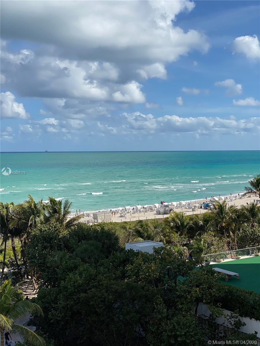 One of a kind! Beautiful, spacious, beach front condo with 1/2 bath + den, can serve as extra room/office. All this comes with your own exclusive cabana by the pool. Cabana is 1 of only 8 in the entire building. Located on Collins Avenue in the heart of Miami Beach. HOA includes cable, internet,24-hour security with on-site guard and security cameras throughout the common areas, including the hallways and elevators. Pool cabana is included in the price and is a deeded property for building homeowners only. Additional amenities include a game room, gym, library and much more! Building has remodeled balconies and upgraded to high impact glass sliding doors and windows, giving it a chic modern look. You do not have to pay millions to own luxury! Call Listing agent for your private tour today!