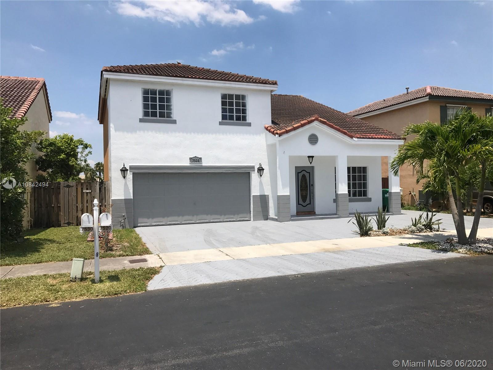 7520 SW 158th Ct  For Sale A10842494, FL
