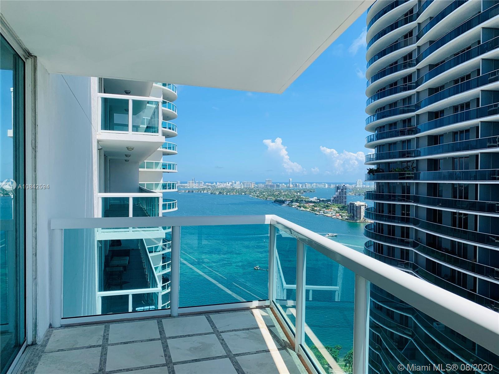 """For rent preferably only for 6 months. Amazing and upgraded apartment at the 1800 Club in Biscayne Blvd. Featuring 2 bedroom + PLUS DEN (spacious and closed) which can be used as """"ANOTHER ROOM"""" and 2 Bathroom. Two beautiful open balconies overlooking the bay and the city skyline! Building amenities includes Gym, Sauna, Steam Room, Game Room, Party Room, Common Areas, Heated Pool, SPA, BBQ Area, Fiber optic wiring in the entire building, free wifi available inside the building. Concierge Services, Valet parking. Includes wifi, cable/tv, water and trash. All closets are made of wood. PLUS: With extra storage space on the 6th floor. Located across the amazing Margaret Pace Park! It is also available for sale MLS A10713166  $519,900. You can see all the photos"""