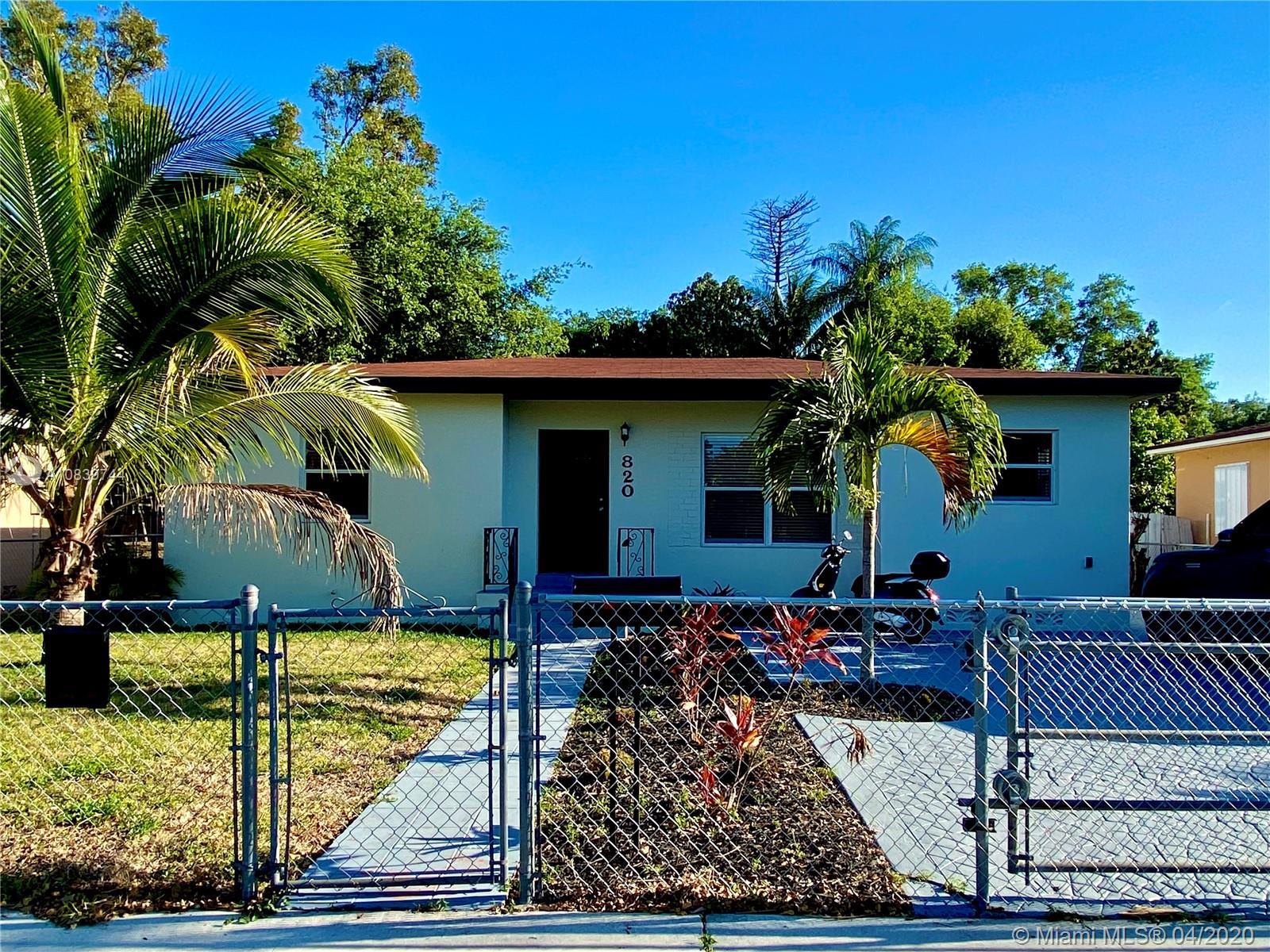 820 NE 145th St  For Sale A10839744, FL