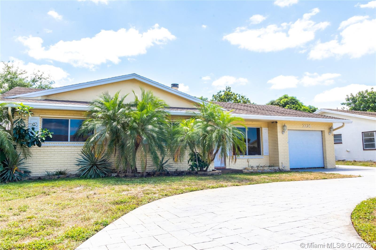 3326 NW 69th St  For Sale A10842975, FL