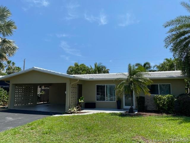 For sale with tenant in place for one year at $2650 per month. Prepaid 6 months. Walk through tour:  https://www.youtube.com/watch?v=vP5fzSB5Eo4Gorgeous, secluded pool home is only 10 minutes from Fort Lauderdale beach strip and priced to sell fast! Also for rent at $2900 per month or lease purchase/option. One of the few house in the area with sprinkler on free well water.  It has a newer galley kitchen and new bathrooms, new impact windows, Italian floor tile. Private lender, wholesale financing available with 3% down and $1804 per month for qualified buyers.